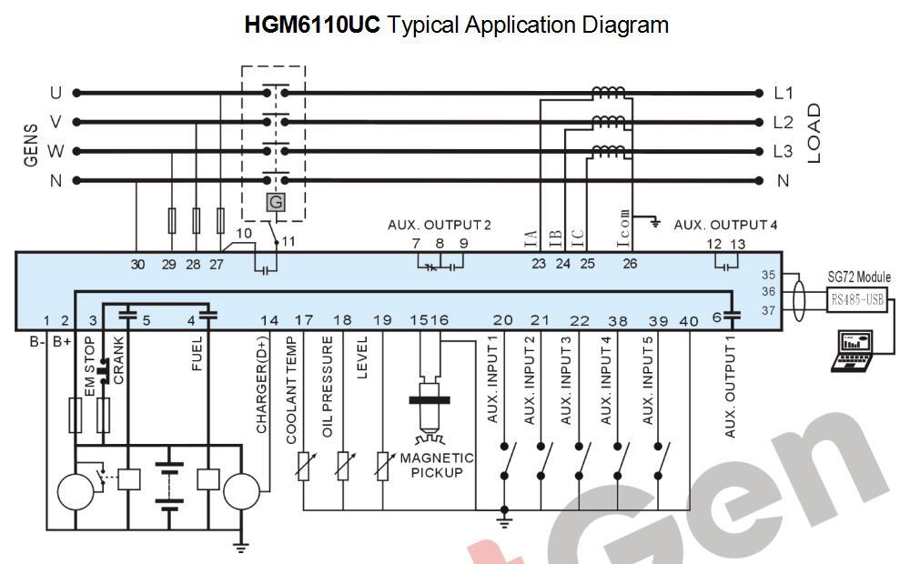 smartgen controller wiring diagram   34 wiring diagram